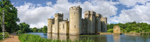 Papiers peints Chateau Bodiam Castle in England