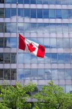 Canadian Flag Flies At Half Ma...