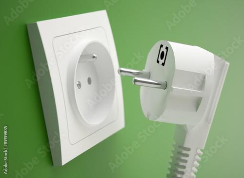 Fototapeta Power plug obraz