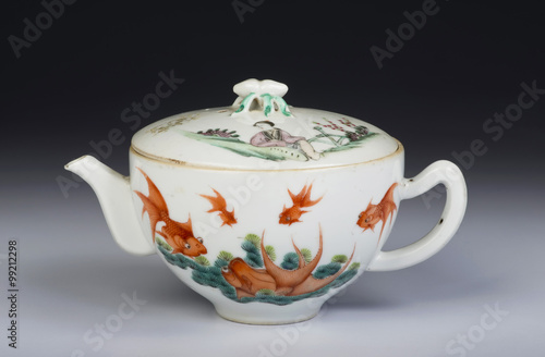 Fotografie, Obraz  Antique Chinese teapot.