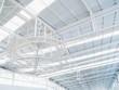 white interior roof design
