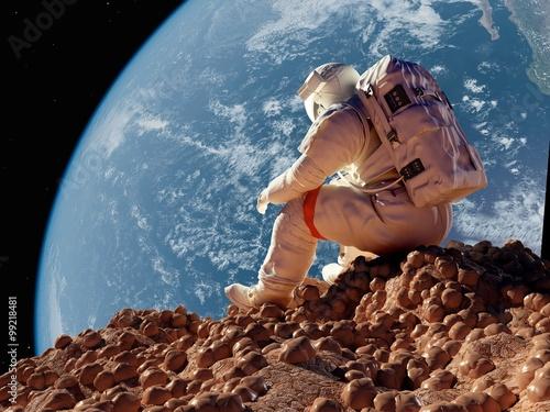 Fotografía El astronauta