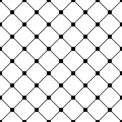FototapetaSeamless geometric pattern. Fashion graphics background design. Abstract modern stylish texture. Repeating tile with rhombuses. For prints, textiles, wrapping, wallpaper, website, blogs etc. VECTOR