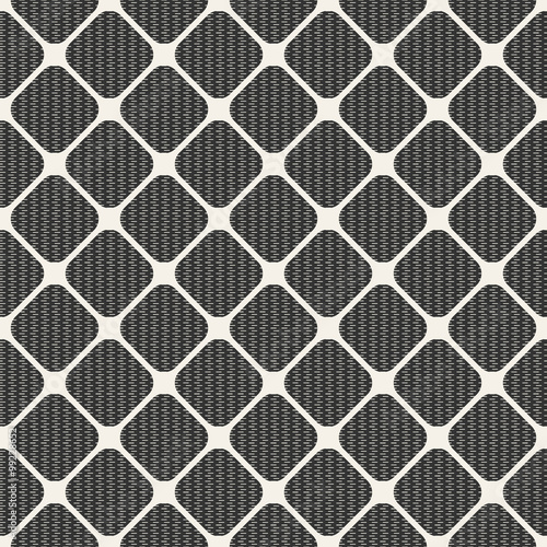 Staande foto Grafische Prints Seamless geometric pattern. Fashion graphics background design. Abstract modern stylish texture. Repeating tile with rhombuses and lines. For prints, textiles, wrapping, wallpaper, website etc. VECTOR