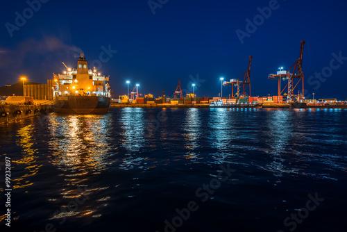 Port in Las Palmas on Gran Canaria island