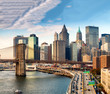 Magnificence of New York skyline