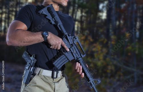 Fototapeta Připraveni střílet