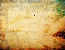 Brown Grungy Wall