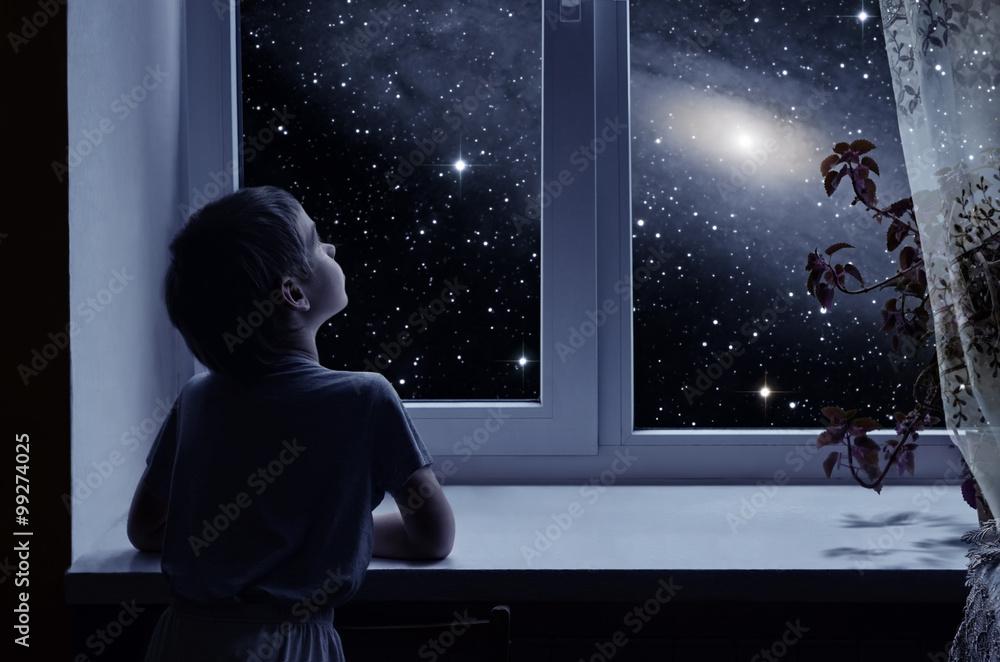 Fototapety, obrazy: Children's imagination