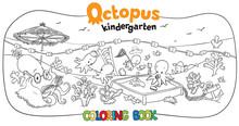 Octopus Kindergarten Coloring ...