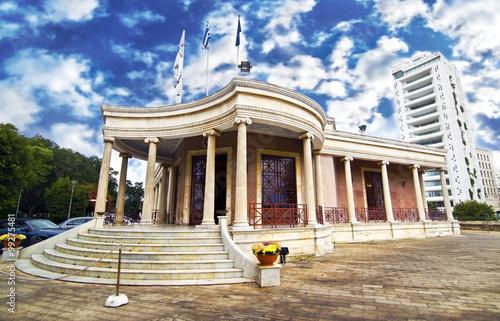 Fotografiet the town hall of Nicosia Cyprus