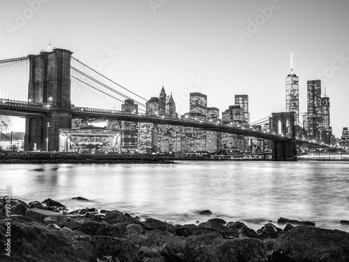 Fototapeten New York Manhattan Sunsets