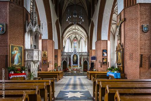 Fotografía interior of Saint John the Evangelist Cathedral, Kwidzyn, Pomera
