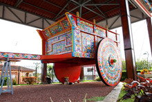 Largest Painted Oxcart