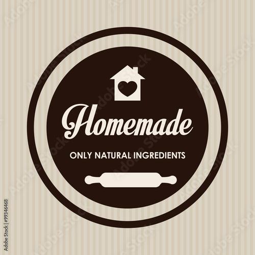 Vászonkép Homemade dessert recipe