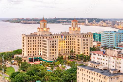 In de dag Havana Aerial view of the city of Havana