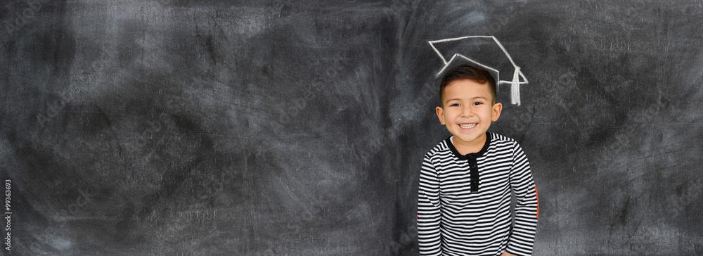 Fototapeta Child At School