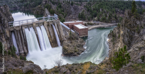 Photo sur Aluminium Barrage Long Lake Dam