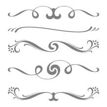 Collection Of Vector Calligrap...