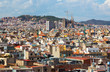 Day view of Barcelona
