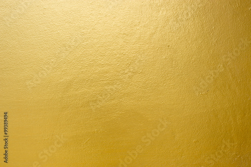 Fotografiet  Gold texture and abstract background
