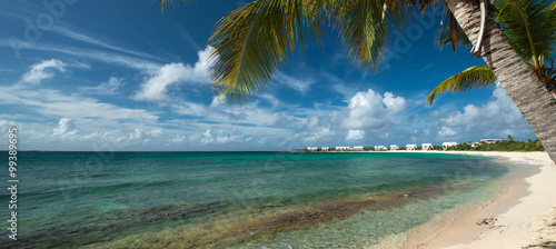 Tuinposter Tropical strand Shoal West Bay, Anguilla Island, English West Indies