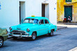Oldtimers, classic and retro, vintage cars from Havana.