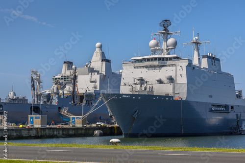 Foto Dutch navy ships