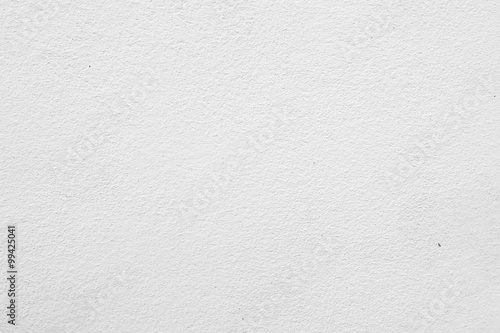 Poster Wand white concrete wall