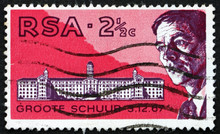 Postage Stamp South Africa 196...