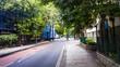 Улицы мегаполиса - осенний Лондон