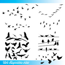 Bird Silhouettes Set