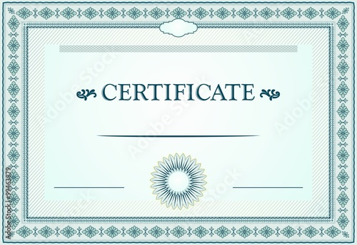 Certificate Borders Template And Design Elements Buy This Stock