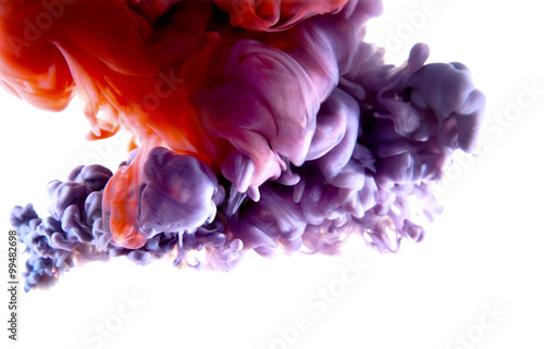 Fotografia  purple red abstract art