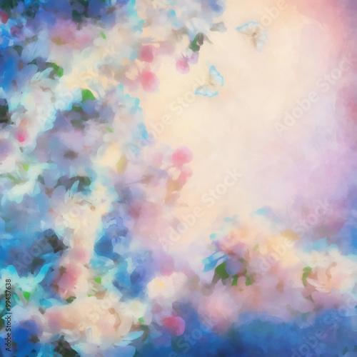 Spring Cherry Blossom - 99487638