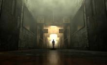 Mental Asylum With Ghostly Fig...