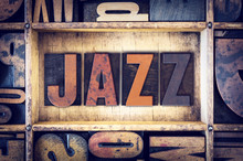 Jazz Concept Letterpress Type
