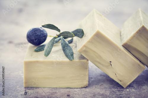 Fotografie, Obraz  Natural soap
