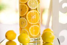 Lemons Decor. Vase