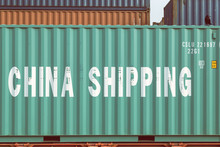 China Freight Container At Tra...