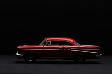 1957's Classic Cars, Bel Air Classic Red Outomobiles