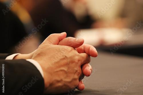 Fotografía  会議中の風景