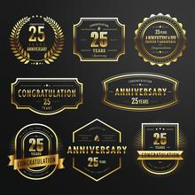 Commemorate Golden Labels Design