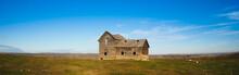 Old Homestead In Prairies, Alb...