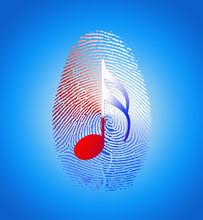 USA Music Fingerprint
