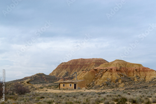 House in Bardenas фототапет
