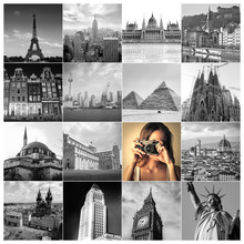 Traveler Taking Pictures