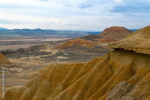 Fotografia  From the tip in Bardenas