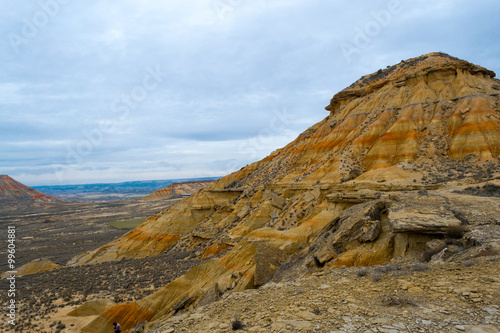 Colorful rocks in Bardenas фототапет