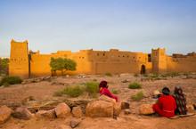 Maroko Desert Ksar